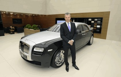 2012 Rolls-Royce Ghost Two-tone 2