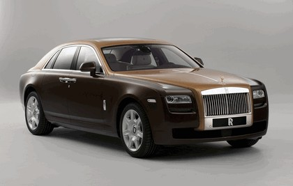 2012 Rolls-Royce Ghost Two-tone 4