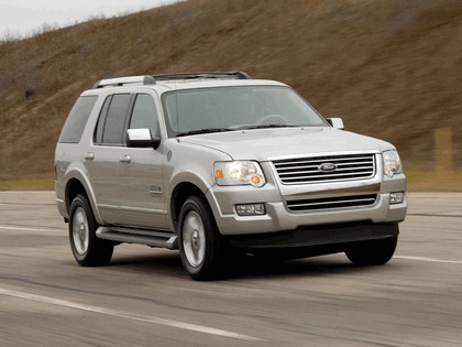 2006 Ford Explorer Limited hydrogen fuel cell 1