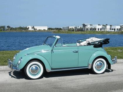 1962 Volkswagen Beetle Type1 convertible 1