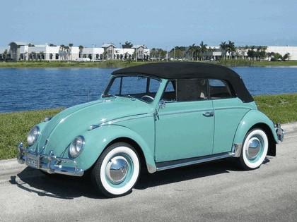 1962 Volkswagen Beetle Type1 convertible 2