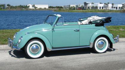 1962 Volkswagen Beetle Type1 convertible 6