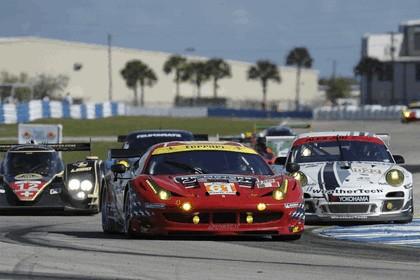 2012 Ferrari 458 Italia GT2 - Sebring 12 hours 19