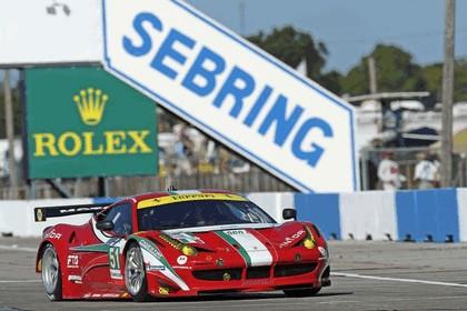 2012 Ferrari 458 Italia GT2 - Sebring 12 hours 31