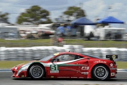 2012 Ferrari 458 Italia GT2 - Sebring 12 hours 36