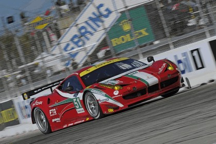2012 Ferrari 458 Italia GT2 - Sebring 12 hours 40