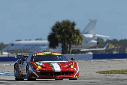 2012 Ferrari 458 Italia GT2 - Sebring 12 hours 43