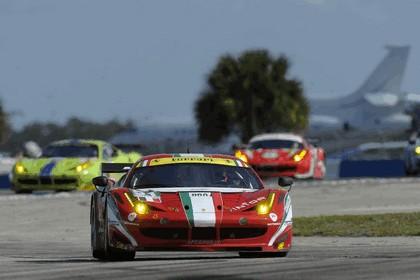 2012 Ferrari 458 Italia GT2 - Sebring 12 hours 44