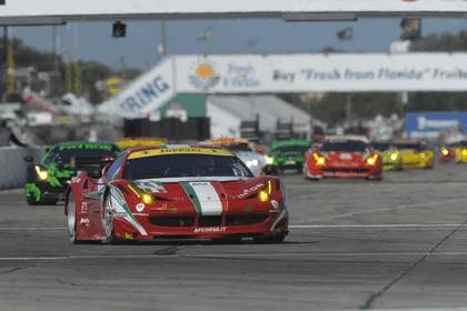 2012 Ferrari 458 Italia GT2 - Sebring 12 hours 45
