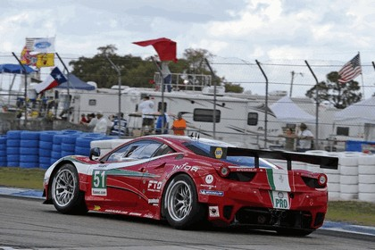 2012 Ferrari 458 Italia GT2 - Sebring 12 hours 46