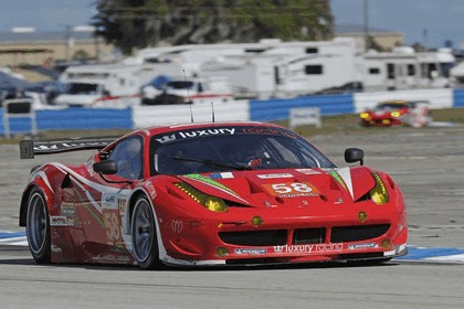 2012 Ferrari 458 Italia GT2 - Sebring 12 hours 49