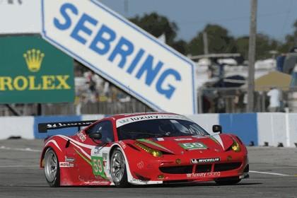 2012 Ferrari 458 Italia GT2 - Sebring 12 hours 50