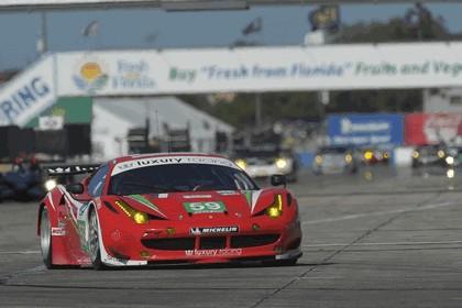 2012 Ferrari 458 Italia GT2 - Sebring 12 hours 53