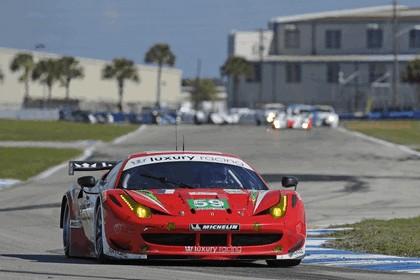2012 Ferrari 458 Italia GT2 - Sebring 12 hours 55