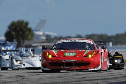 2012 Ferrari 458 Italia GT2 - Sebring 12 hours 58