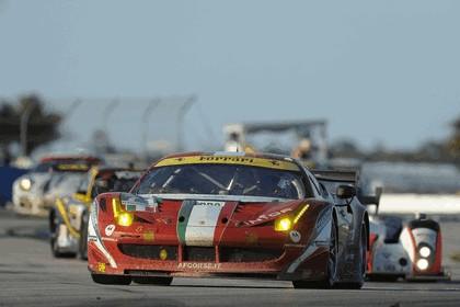 2012 Ferrari 458 Italia GT2 - Sebring 12 hours 62