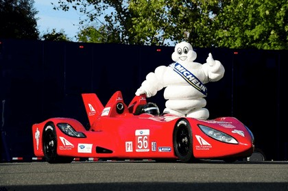 2012 Nissan Deltawing - Michelin unveiling 2