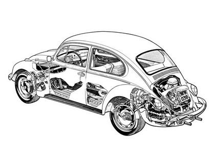 1976 Volkswagen Beetle 2