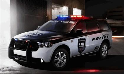 2012 Dodge Durango Police Car 1
