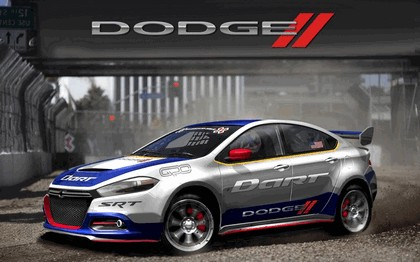2013 Dodge Dart rally car - renderings 1
