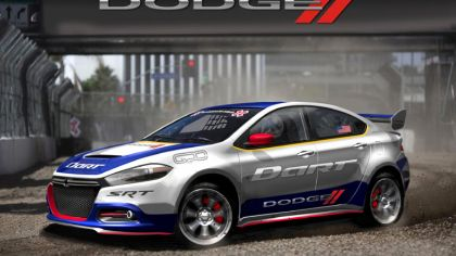 2013 Dodge Dart rally car - renderings 8
