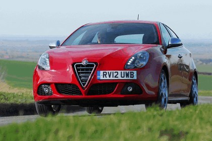 2012 Alfa Romeo Giulietta - UK version 2