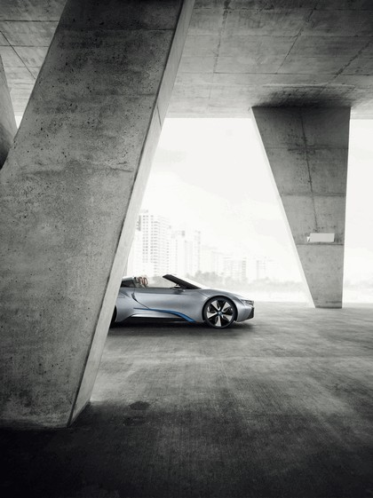 2012 BMW i8 concept spyder 16