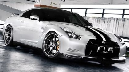 2012 Nissan GT-R ( R35 ) by PUR Wheels 8