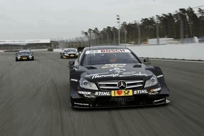 2012 Mercedes-Benz C-klasse coupé DTM - on track unveiling 4