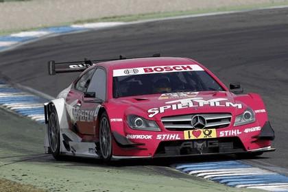 2012 Mercedes-Benz C-klasse coupé DTM - on track unveiling 11