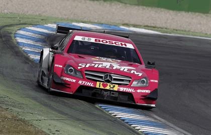 2012 Mercedes-Benz C-klasse coupé DTM - on track unveiling 12