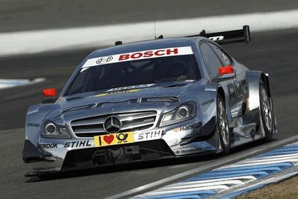 2012 Mercedes-Benz C-klasse coupé DTM - on track unveiling 15