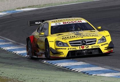 2012 Mercedes-Benz C-klasse coupé DTM - on track unveiling 19
