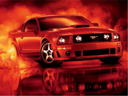 2005 Ford Mustang 427R by Roush 12