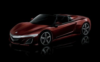 2012 Acura NSX roadster concept 1