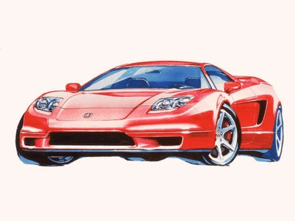 2002 Acura NSX - sketches 1