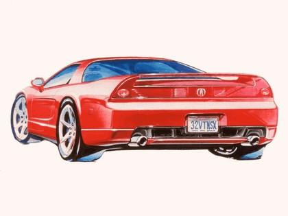 2002 Acura NSX - sketches 2