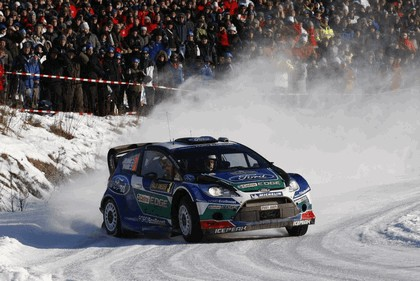2012 Ford Fiesta WRC - rally of Sweden 2