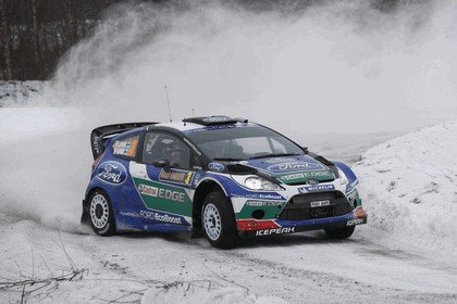 2012 Ford Fiesta WRC - rally of Sweden 5