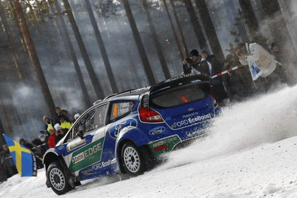 2012 Ford Fiesta WRC - rally of Sweden 8