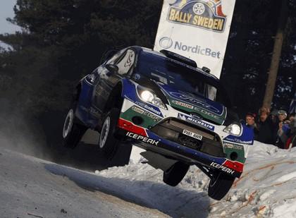 2012 Ford Fiesta WRC - rally of Sweden 9