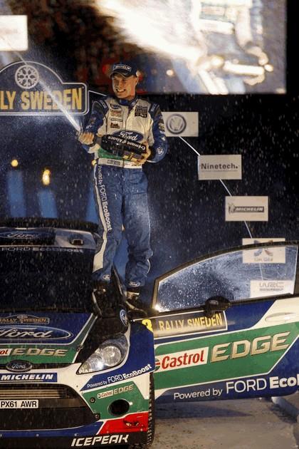 2012 Ford Fiesta WRC - rally of Sweden 12