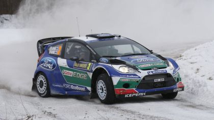 2012 Ford Fiesta WRC - rally of Sweden 1