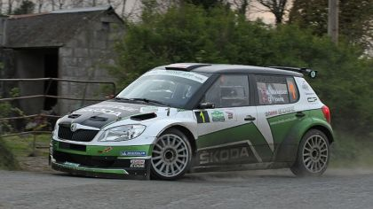 2012 Skoda Fabia S2000 - rally of Ireland ( IRC ) 9