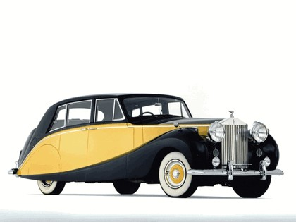 1956 Rolls-Royce Silver Wraith Hooper Limousine 1