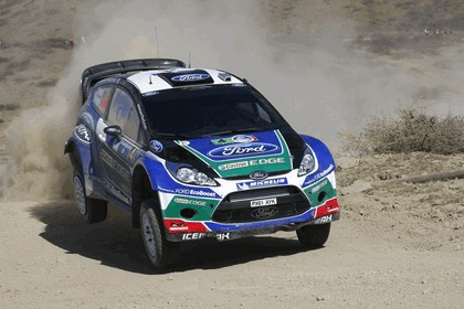 2012 Ford Fiesta WRC - rally of Mexico 1