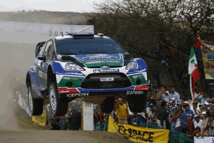 2012 Ford Fiesta WRC - rally of Mexico 2