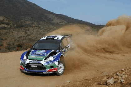 2012 Ford Fiesta WRC - rally of Mexico 5