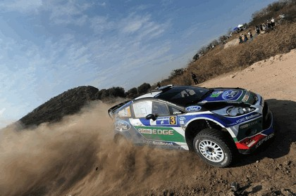 2012 Ford Fiesta WRC - rally of Mexico 8