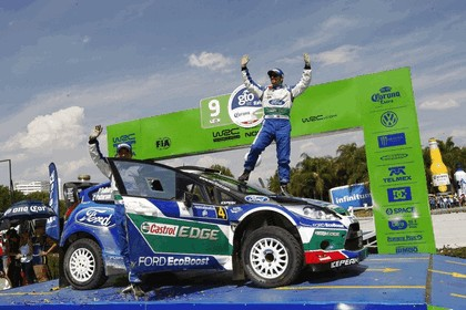 2012 Ford Fiesta WRC - rally of Mexico 11